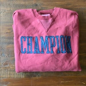 Mens CHAMPION crew neck sweatshirt